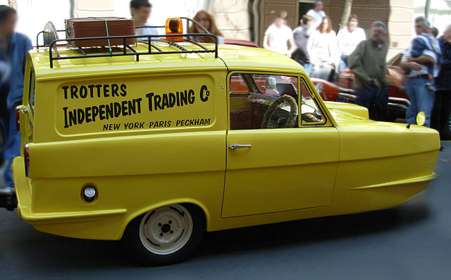 Trotters Van from Only Fools and Horses