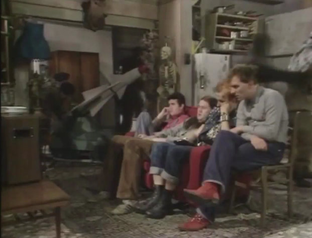 scene from The Young Ones